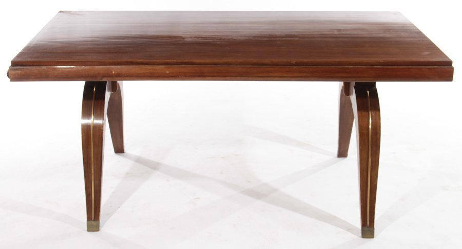 FRENCH ART DECO DINING TABLE CIRCA 1930 - 2