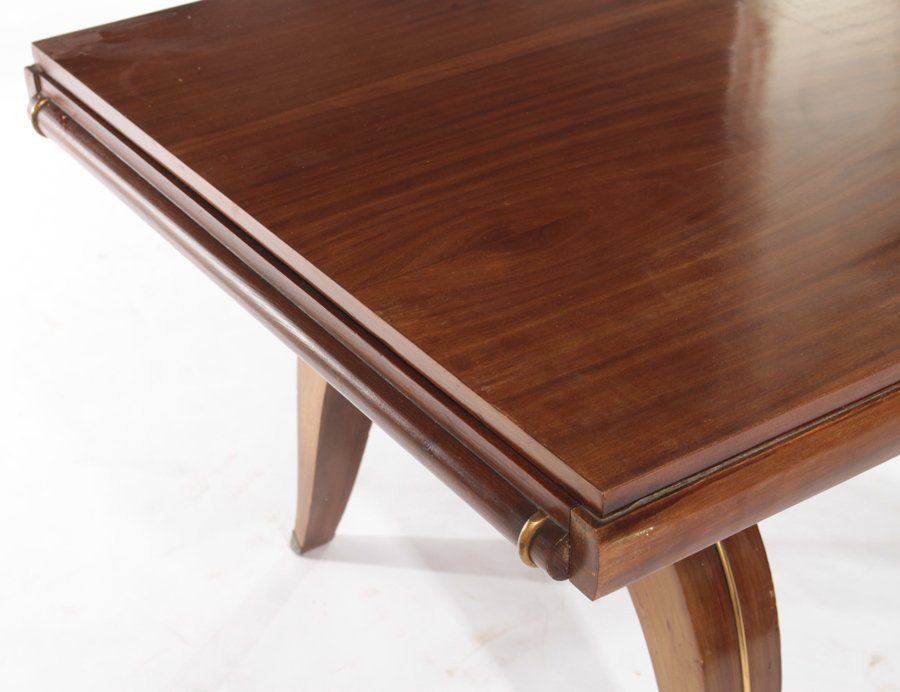 FRENCH ART DECO DINING TABLE CIRCA 1930 - 4