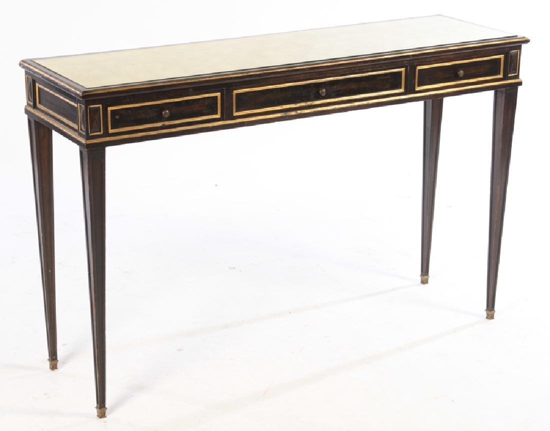 LOUIS XVI GILT TRIMMED CONSOLE TABLE 1940 - 2