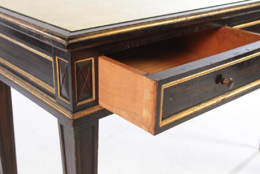 LOUIS XVI GILT TRIMMED CONSOLE TABLE 1940 - 4