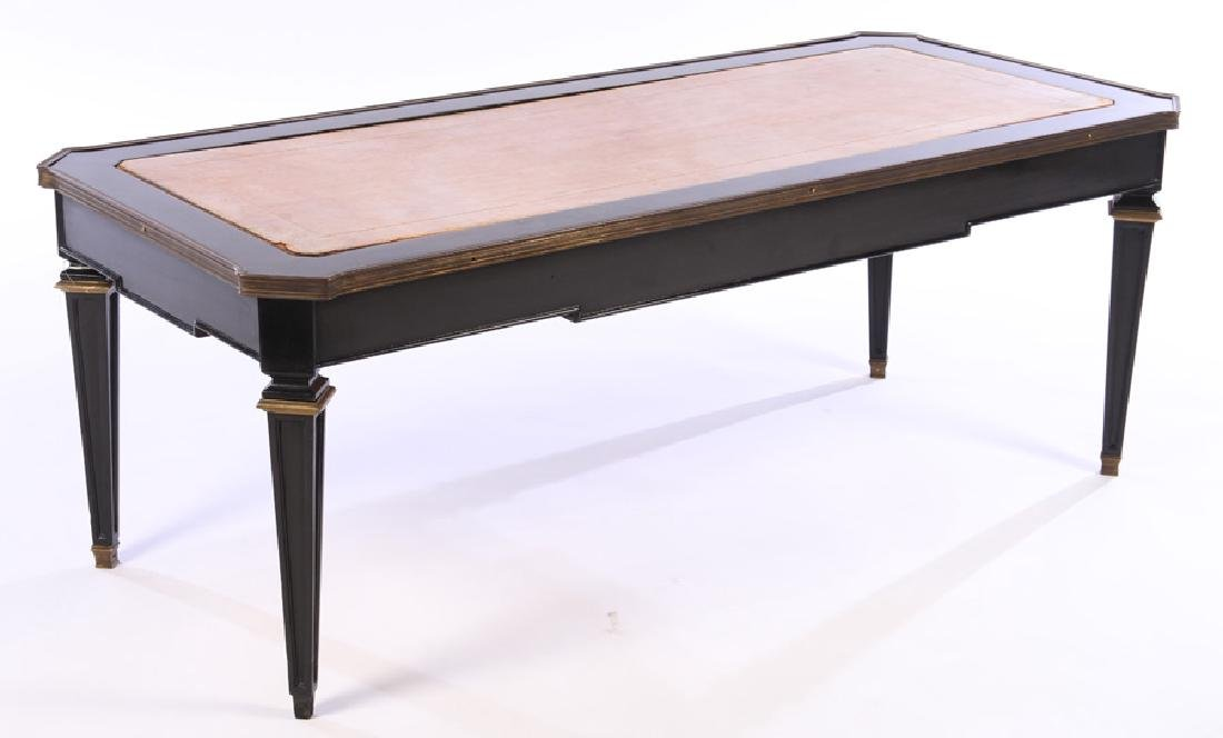 JANSEN BRONZE MOUNTED COFFEE TABLE 1940