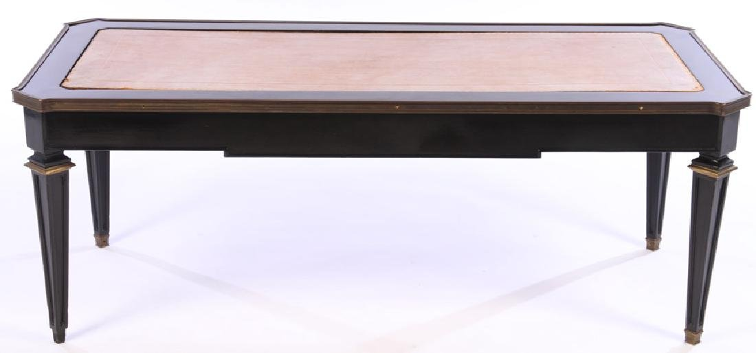 JANSEN BRONZE MOUNTED COFFEE TABLE 1940 - 2