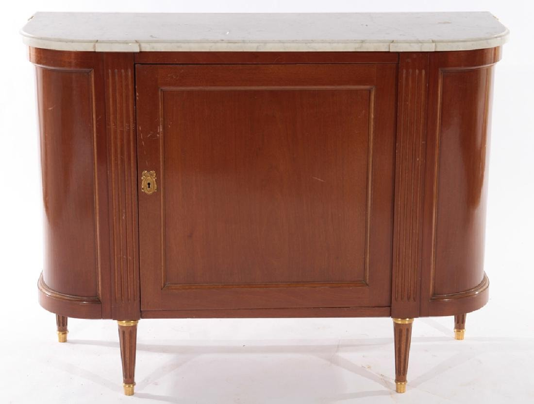 PAIR FRENCH LOIS XVI STYLE COMMODES 1940 - 2