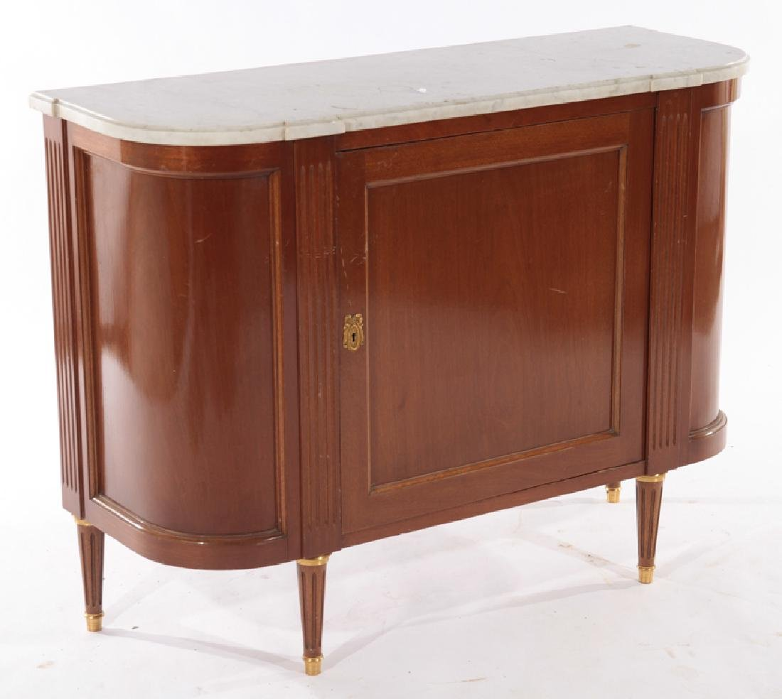 PAIR FRENCH LOIS XVI STYLE COMMODES 1940 - 3