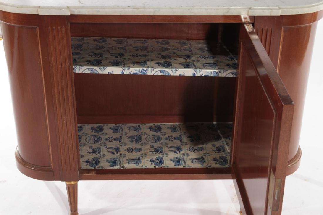 PAIR FRENCH LOIS XVI STYLE COMMODES 1940 - 5