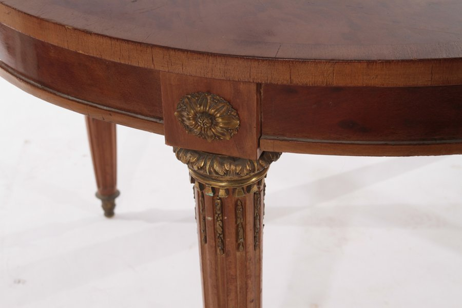 TEN PIECE FRENCH DIRECTOIRE STYLE DINING ROOM SET C1900 - 7