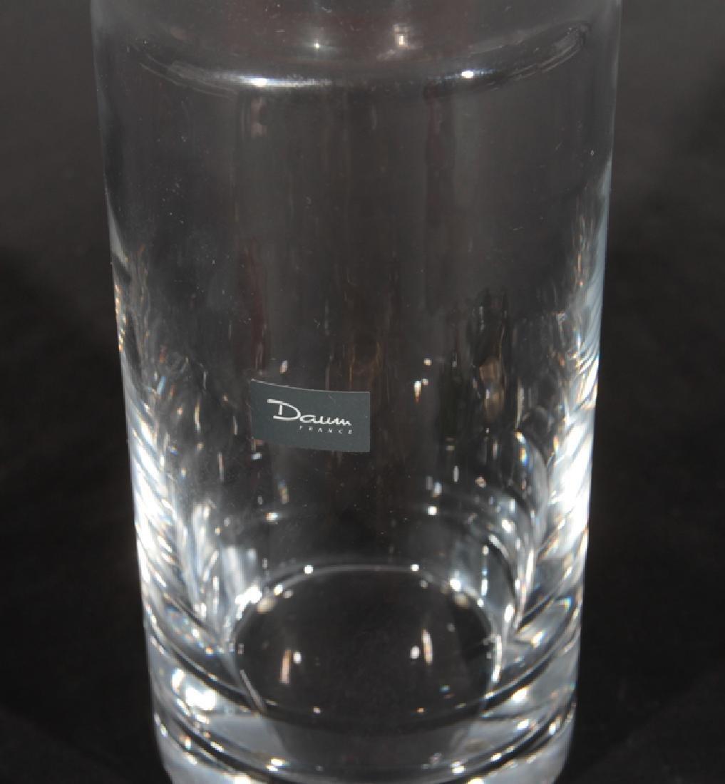 4 PIECE LOT OF PATA DE VERRE DAUM FRANCE GLASS - 3