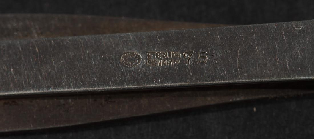 5 PC. GEORG JENSEN STERLING SILVER 1.460 TROY OZ - 4