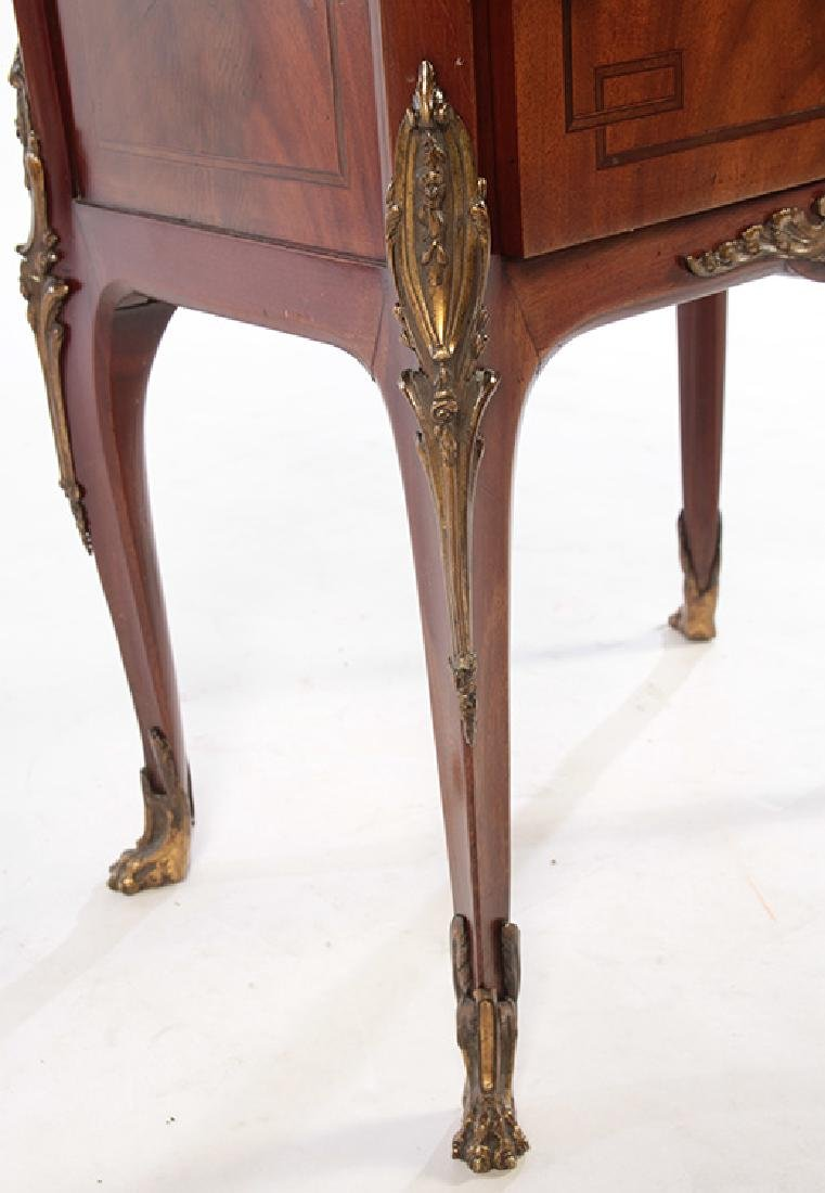 PAIR OF LOUIS XV STYLE SIDE CABINETS C. 1920 - 7