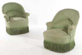 PAIR OF NAPOLEON III CHAIRS C.1880