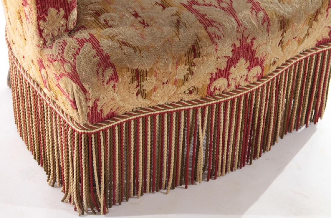 FRENCH 19TH CENT. NAPOLEON III CLUB CHAIR - 4