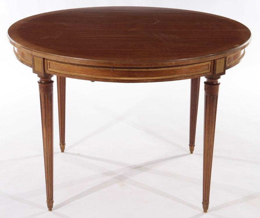 FRENCH LOUIS XVI MAHOGANY DINING TABLE 1940 - 2