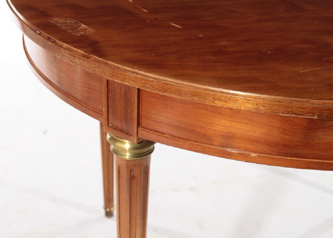 ROUND FRENCH MAHOGANY GAMES TABLE C.1950 - 3