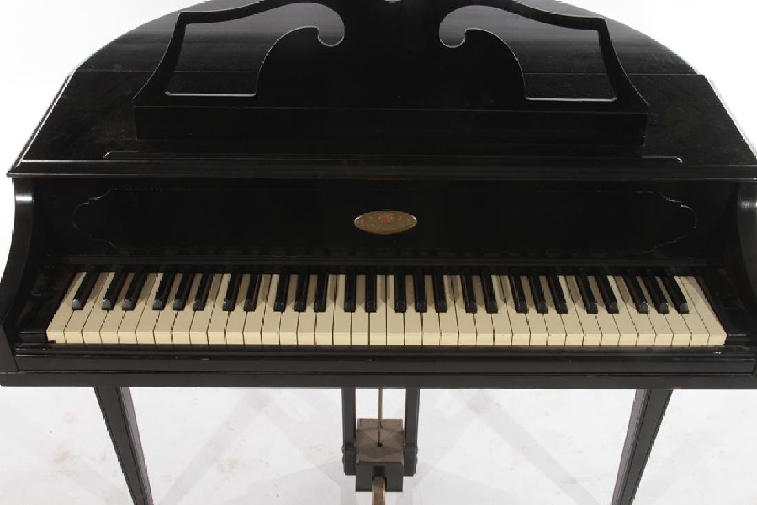 LABELED WURTLIZER ELECTIC PIANO WITH BENCH - 4