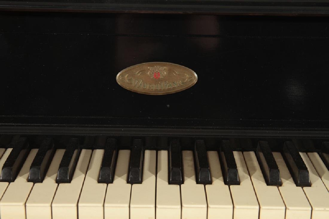 LABELED WURTLIZER ELECTIC PIANO WITH BENCH - 5