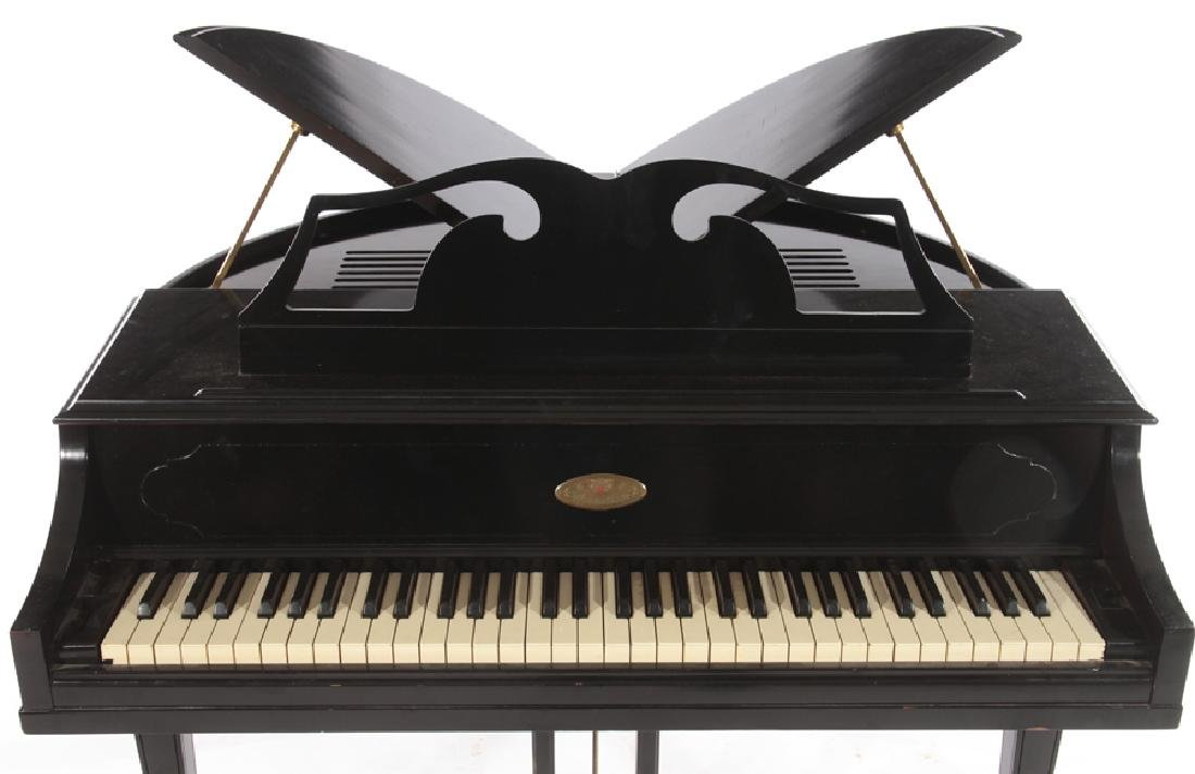 LABELED WURTLIZER ELECTIC PIANO WITH BENCH - 6