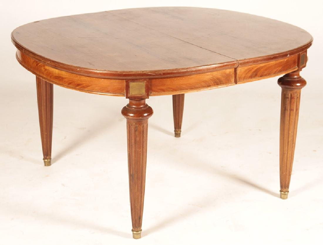 FRENCH LOUIS XVI STYLE DINING TABLE 1920