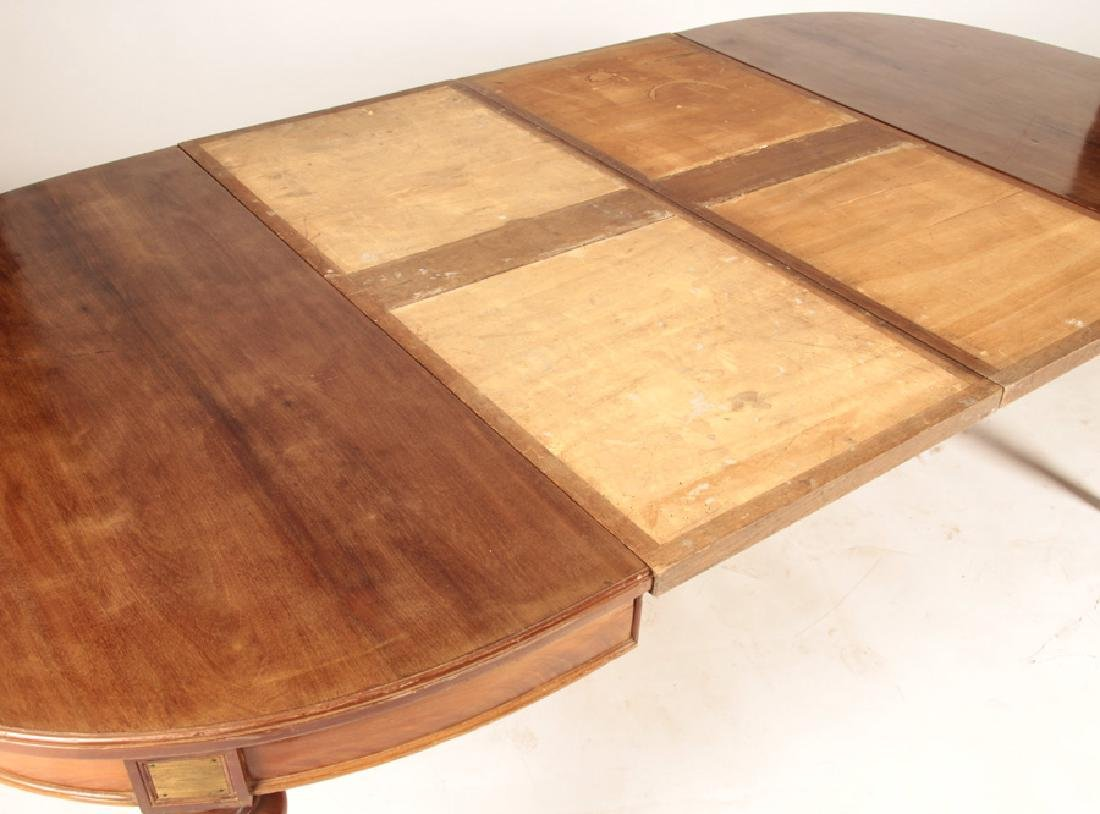 FRENCH LOUIS XVI STYLE DINING TABLE 1920 - 3