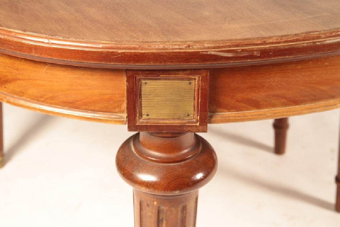 FRENCH LOUIS XVI STYLE DINING TABLE 1920 - 4