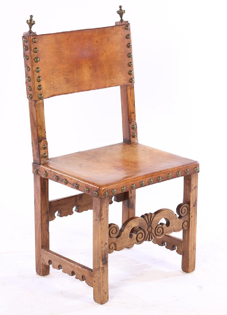 PAIR OF 20TH CENTURY CONTINENTAL SIDE CHAIRS - 2