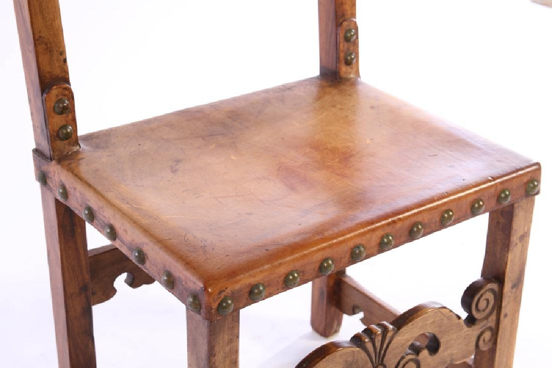 PAIR OF 20TH CENTURY CONTINENTAL SIDE CHAIRS - 5
