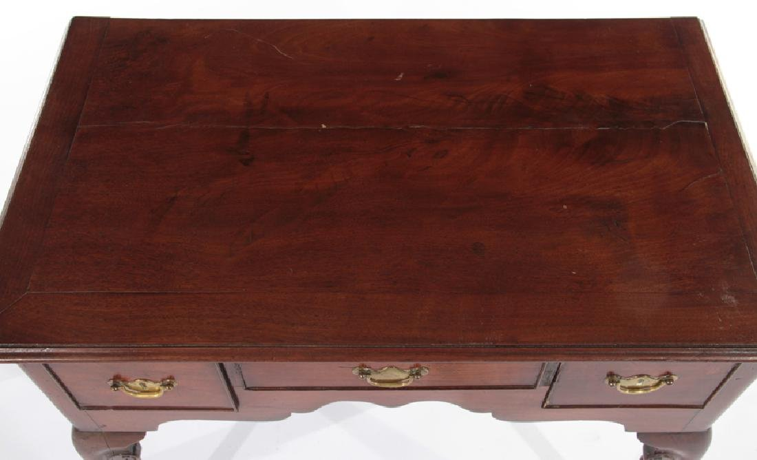 18TH CENT. ENGLISH GEO III MAHOGANY LOW BOY - 3