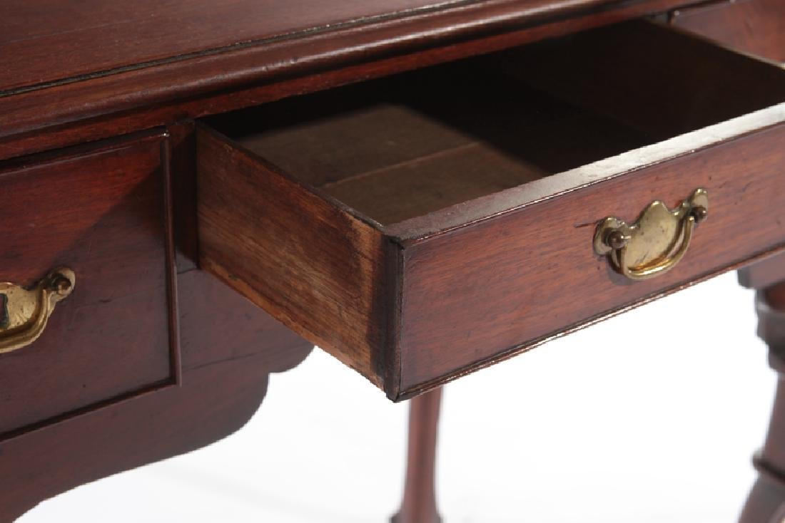 18TH CENT. ENGLISH GEO III MAHOGANY LOW BOY - 4