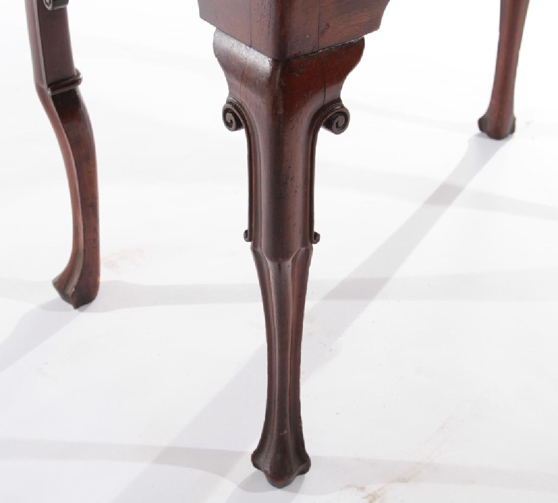 18TH CENT. ENGLISH GEO III MAHOGANY LOW BOY - 5