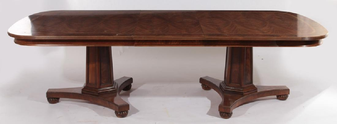 LABELED HENREDON GEORGE III STYLE DINING TABLE - 5