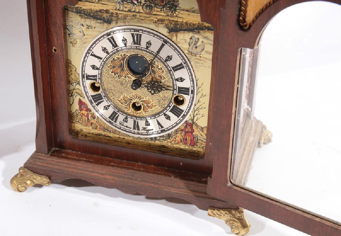 2 MANTLE CLOCKS SETH THOMAS CHRISTIAN HUYGENS - 3