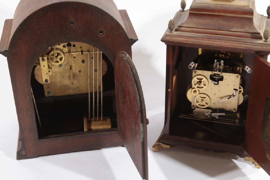 2 MANTLE CLOCKS SETH THOMAS CHRISTIAN HUYGENS - 4