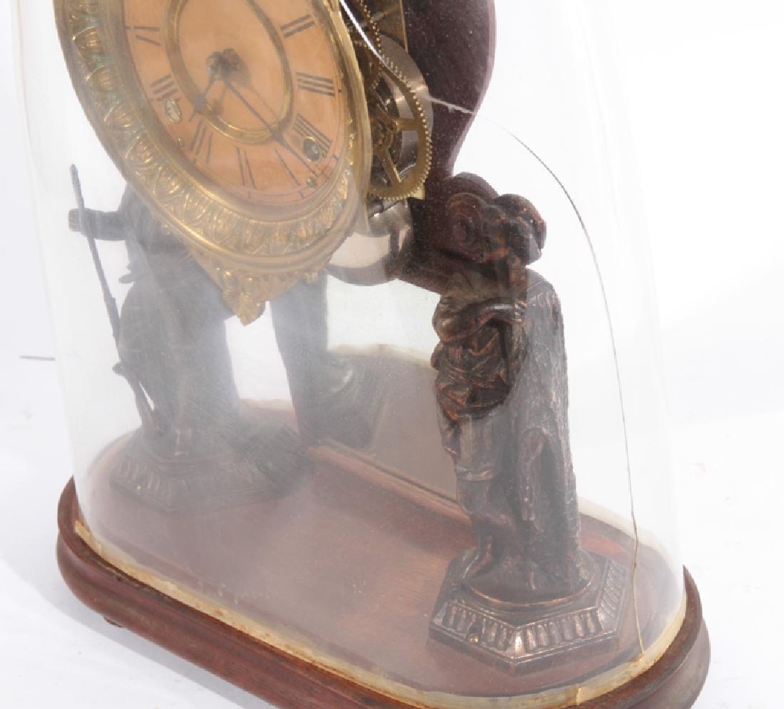 TWO AMERICAN MANTLE CLOCKS CIRCA 1920 - 7