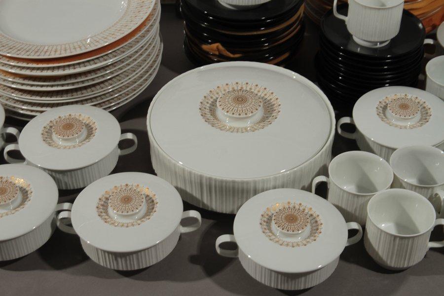99 PORCELAIN DINNER SET TAPIO WIRKKALA ROSENTHAL - 5
