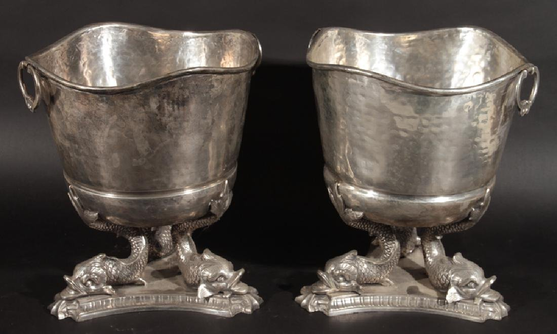 PAIR OF ROYAL SHEFFIELD EMPIRE STYLE PLANTERS