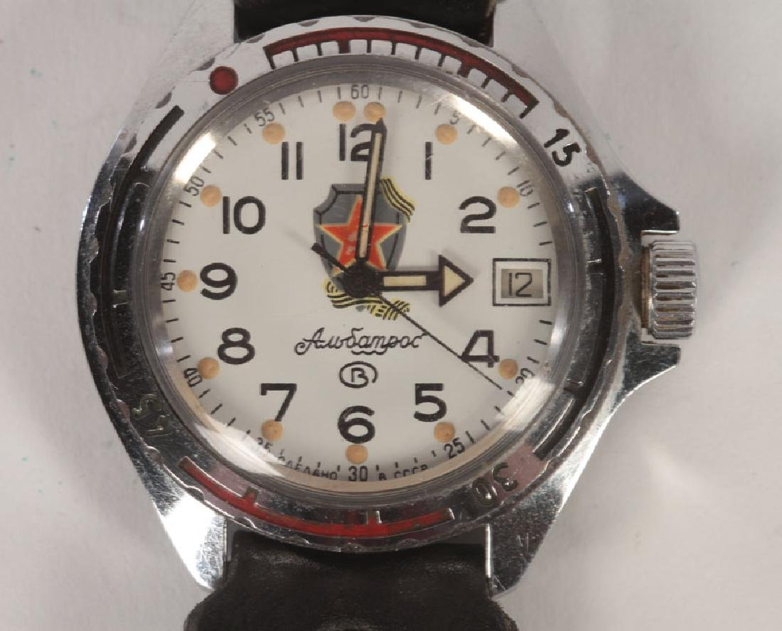 3 SPORT WATCHES: RUSSIAN AND VINTAGE SEIKO C.1960 - 2