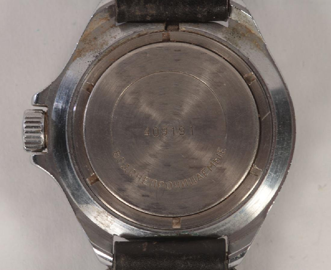 3 SPORT WATCHES: RUSSIAN AND VINTAGE SEIKO C.1960 - 3