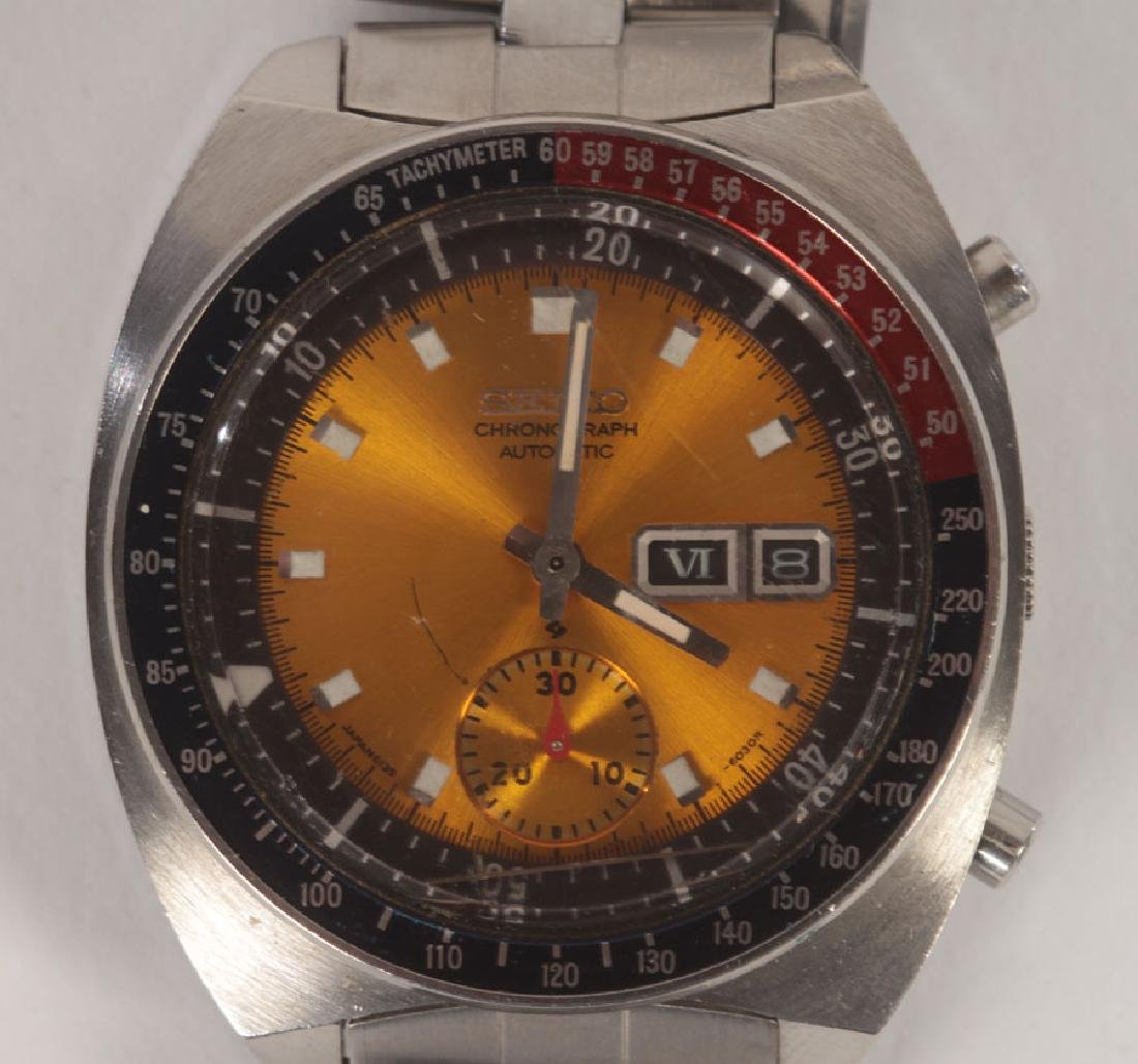 3 SPORT WATCHES: RUSSIAN AND VINTAGE SEIKO C.1960 - 4