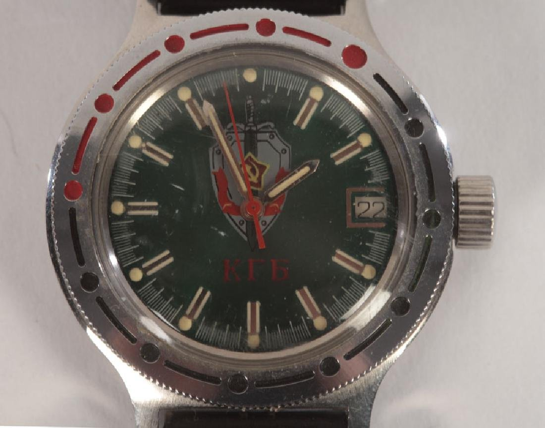 3 SPORT WATCHES: RUSSIAN AND VINTAGE SEIKO C.1960 - 6