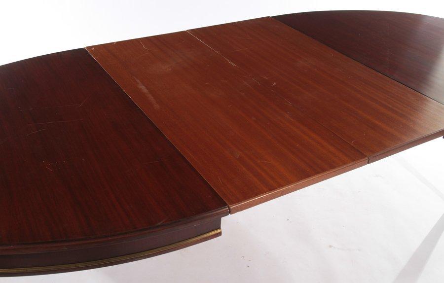 FRENCH DIRECTOIRE MAHOGANY DINING TABLE 1940 - 5