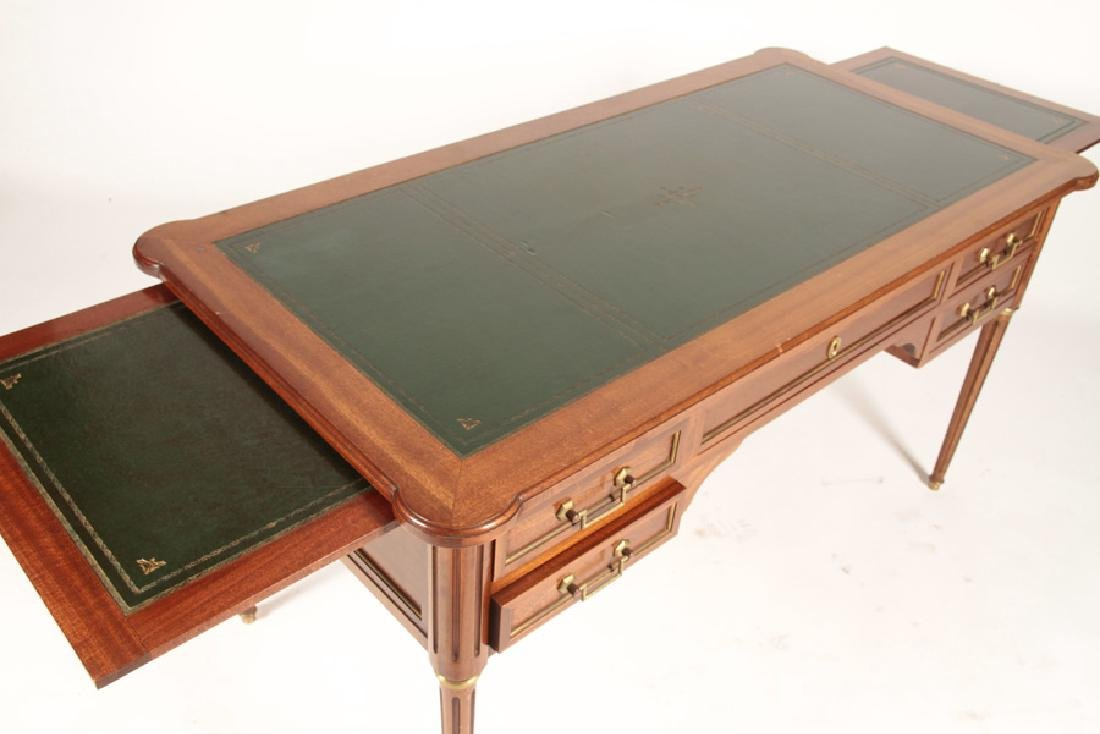 FRENCH LOUIS XVI WRITING DESK LEATHER TOP 1950 - 4