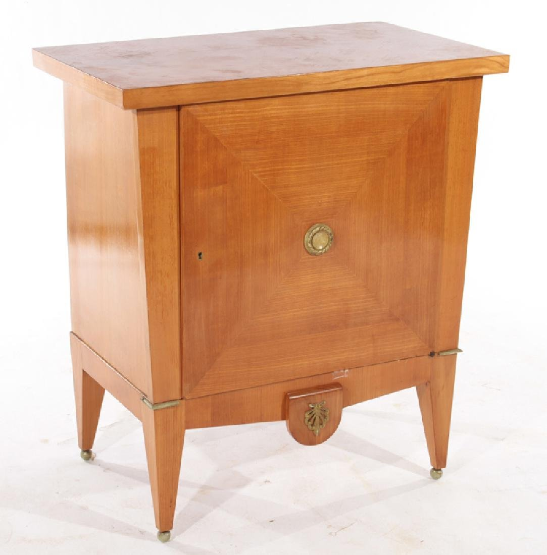 FRENCH SINGLE DOOR CABINET ANDRE ARBUS STYLE - 2