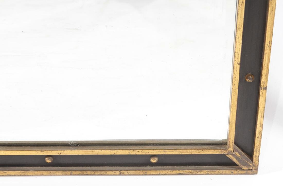 ITALIAN BRONZE AND IRON CONSOLE MATCHING MIRROR - 7
