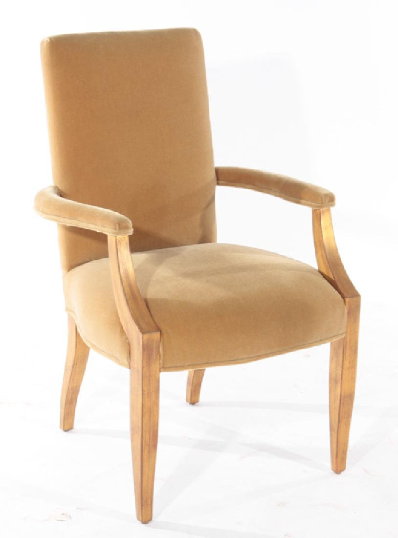 PAIR OF ANDRE ARBUS STYLE ARM CHAIRS - 2
