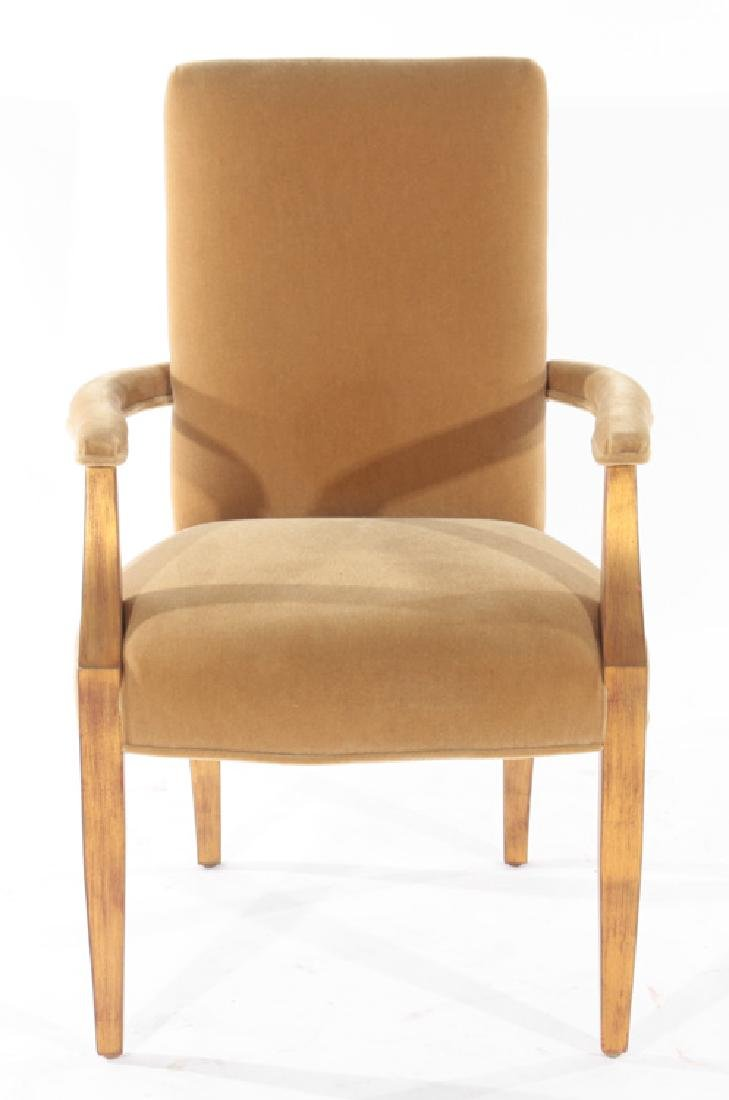 PAIR OF ANDRE ARBUS STYLE ARM CHAIRS - 3