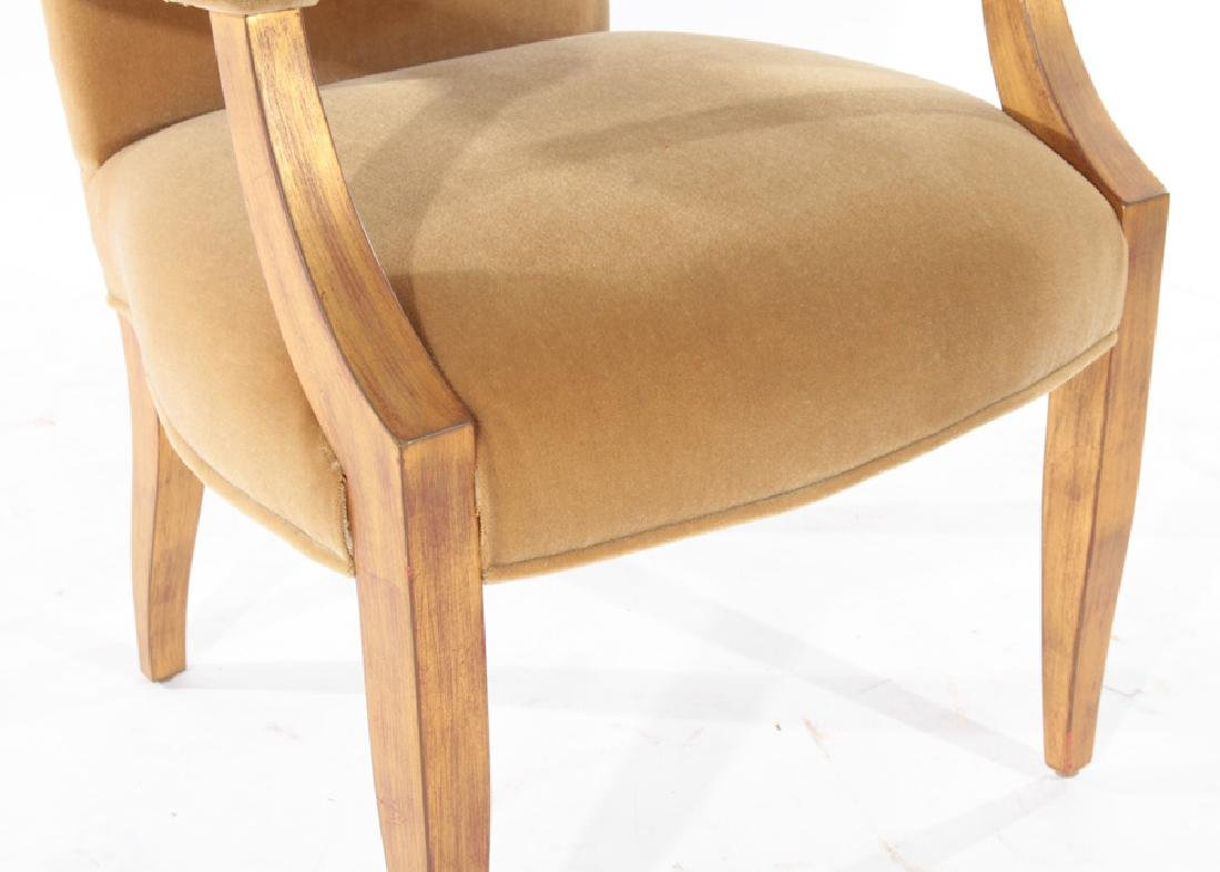 PAIR OF ANDRE ARBUS STYLE ARM CHAIRS - 5