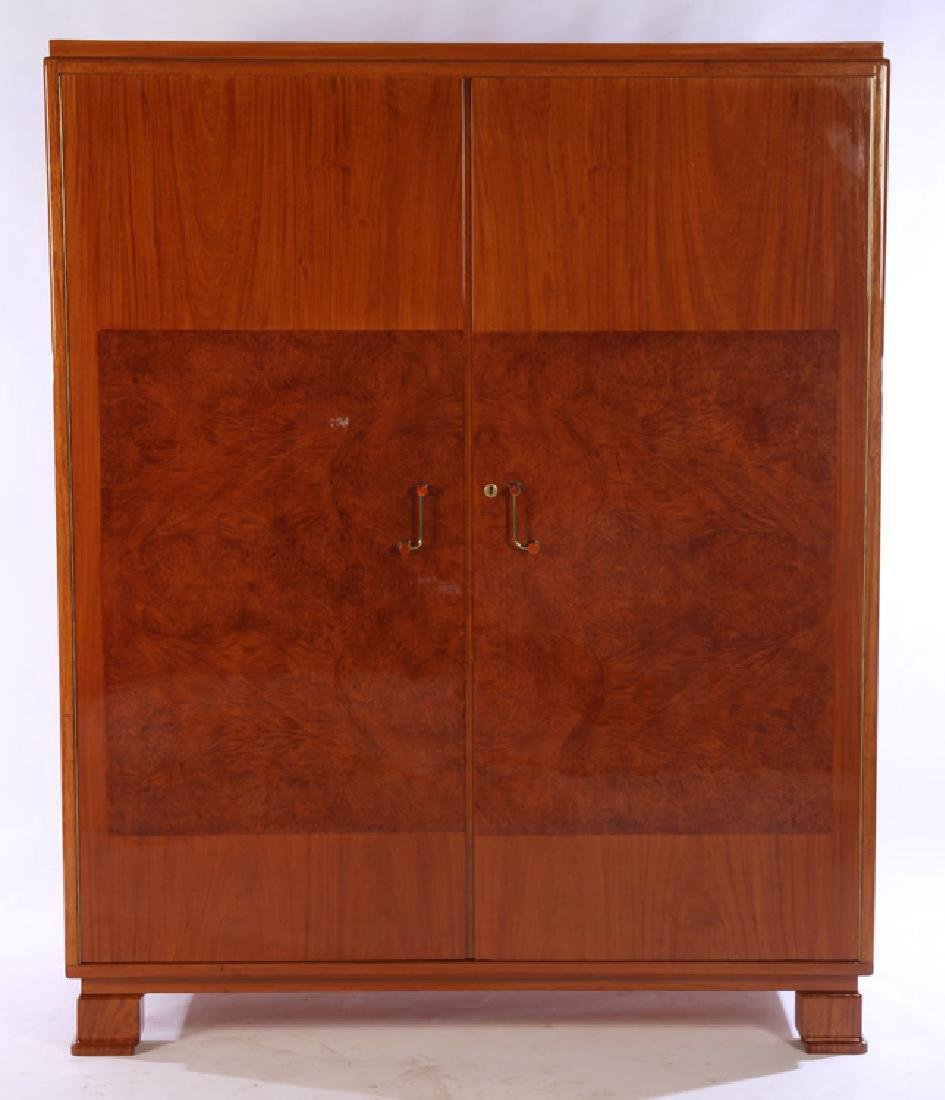 ART DECO ARMOIRE BAKELITE EARLY 20TH CENTURY