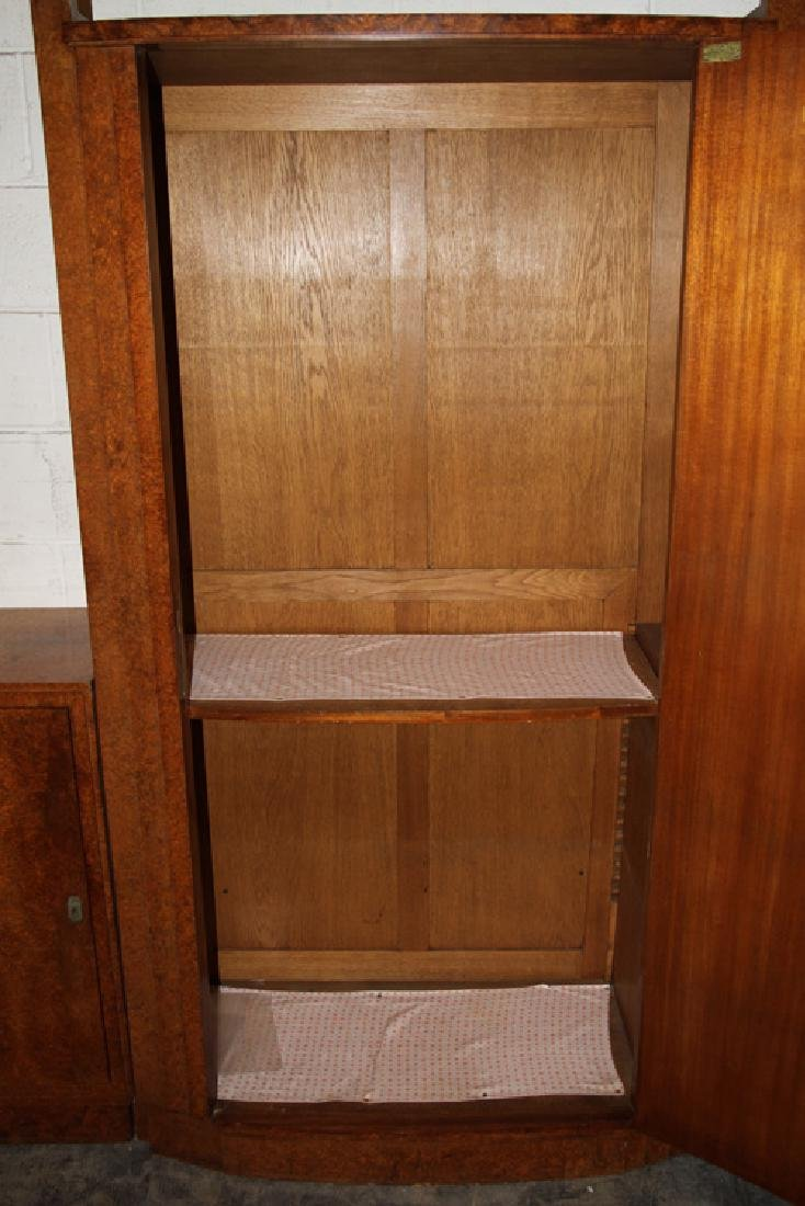 LABELED ART DECO 5 PC DRESSING CABINET 1930 - 4