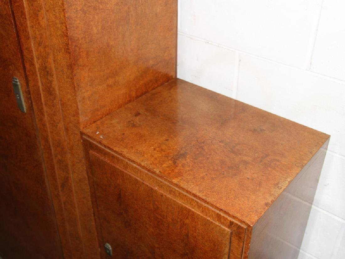 LABELED ART DECO 5 PC DRESSING CABINET 1930 - 5