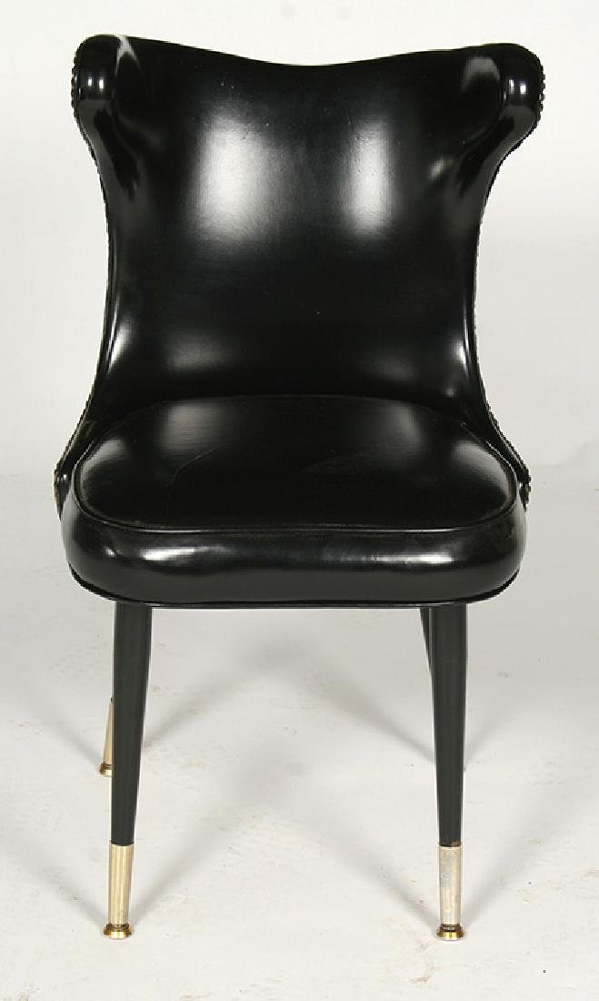 MODERN COCK FIGHTING CHAIRS TUFTED 1960 - 2