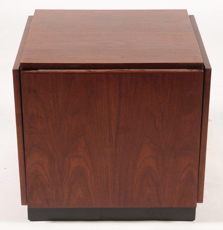 VLADIMIR KAGAN TIC-TAC-TOE TABLE CIRCA 1960-70